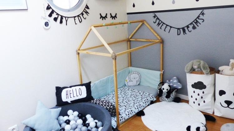 du lit barreaux au lit au sol baby room tour - Lit Au Sol